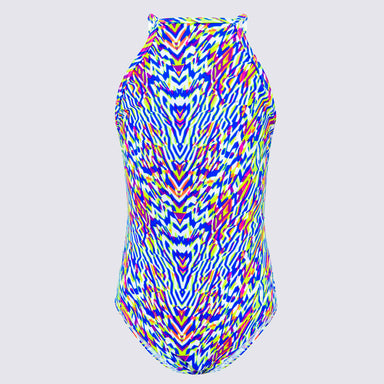 Cupid Girl Neon Tribe High Neck One Piece