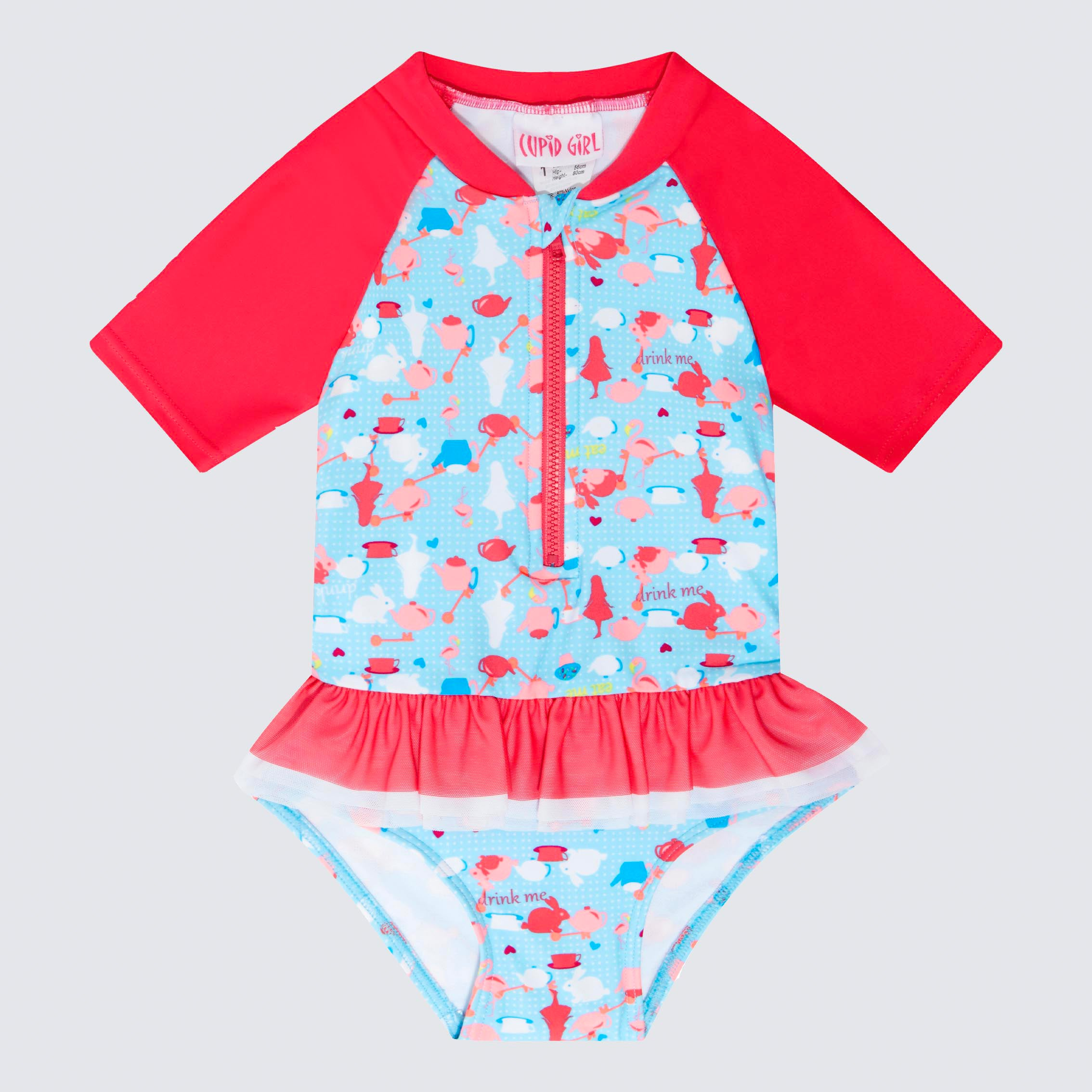 Cupid Girl Tea Party Tutu One Piece