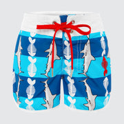 WaveRat Fish Food Retro Boardshorts