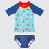 WaveRat Sail Away Rashie and Swim Nappy Set
