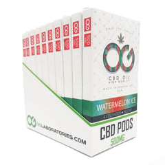 OG CBD Watermelon Ice Pods (Pack of 4) – UK