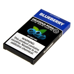 Delicious Pods for JUUL - Blueberry 5% - Juul Compatible Pods UK
