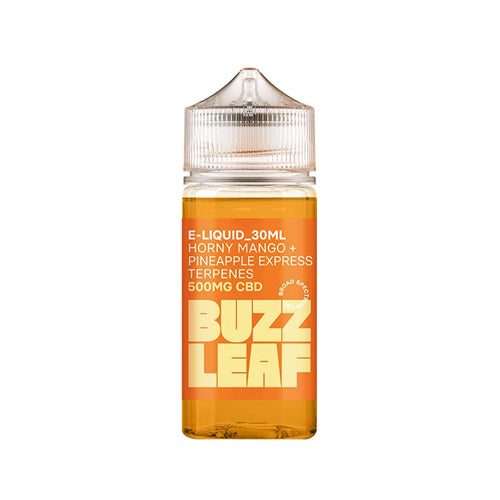 Buzz Leaf 500mg CBD Vape e-Liquid – 30ml