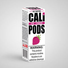 Cali Pod Salts - Strawberry e-liquid - 50mg - 30ml bottle - UK