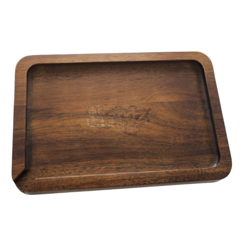 Chongz Acacia Wood Rolling Tray - 250mm or 300mm