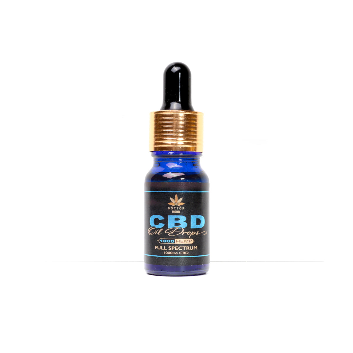 Doctor Herb 10% Full Spectrum CBD Oil Drops 1000mg