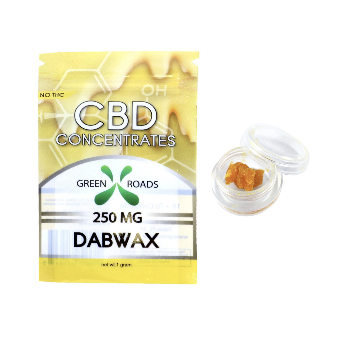 Green Roads CBD Dab Wax 250mg