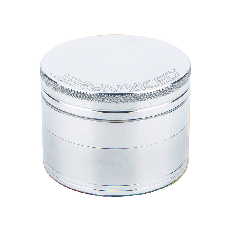 AEROSPACED 4-piece 50mm Herb Grinder with Magnetic Top - Multiple Colours Available UK