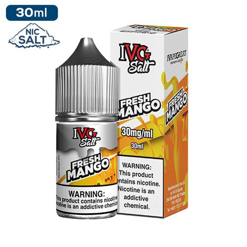 IVG Premium Salts - Fresh Mango Eliquid - 50mg - 30ml bottle - UK
