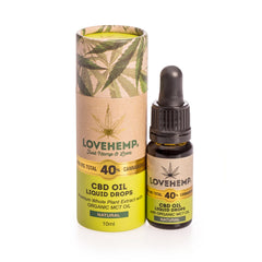 Love Hemp 4000mg 40% CBD Oil – 10ml