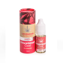 Love Hemp CBD Infused E-Liquid - 10ml - 50mg to 300mg CBD strengths available - 5 Flavours