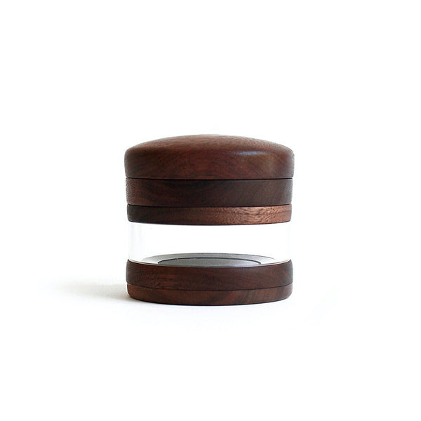 Marley Natural Black Walnut Large Four Piece Grinder