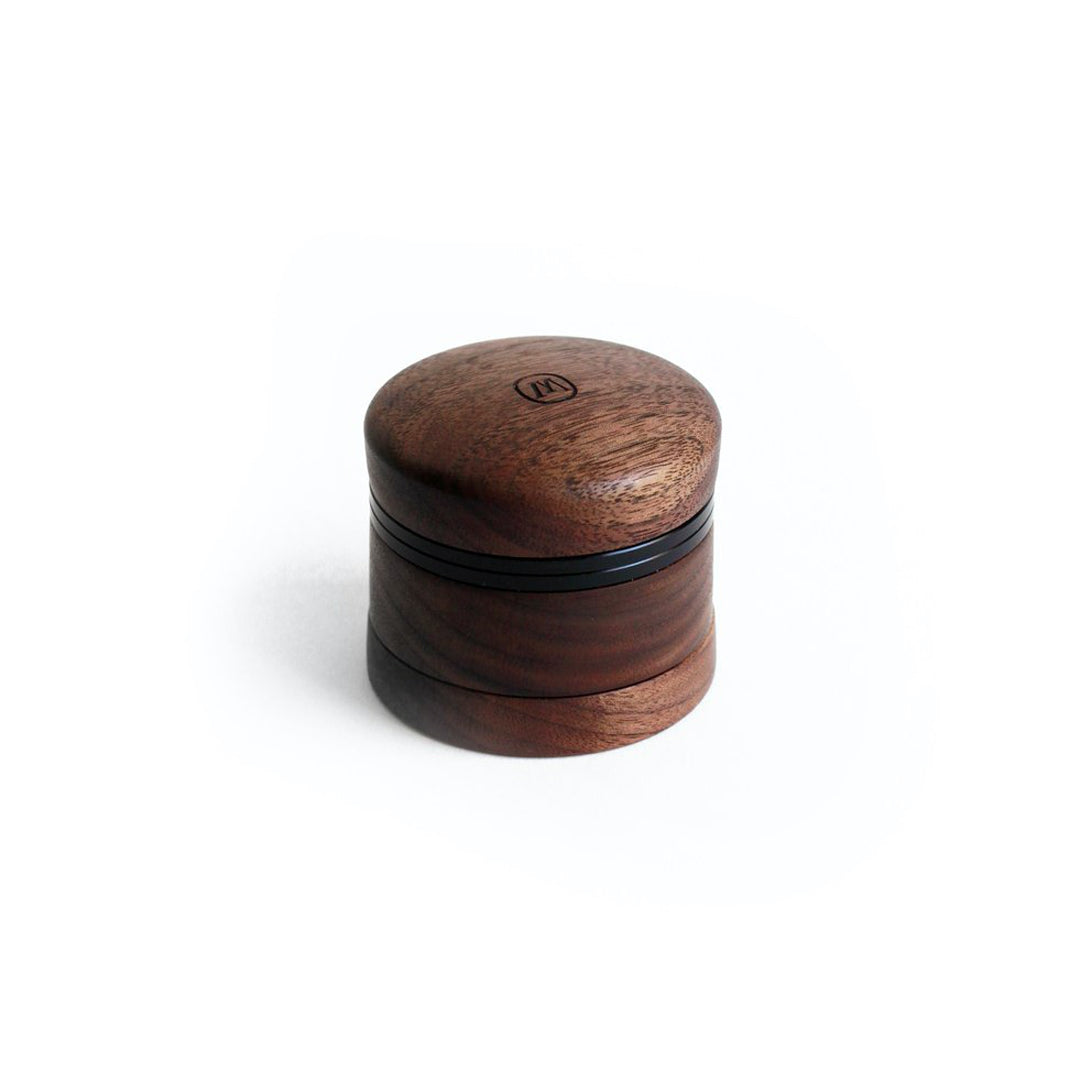Marley Natural Black Walnut Small Four Piece Grinder