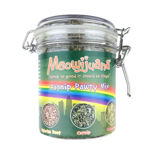 Meowijuana Catnip Pawty Mix For Cats