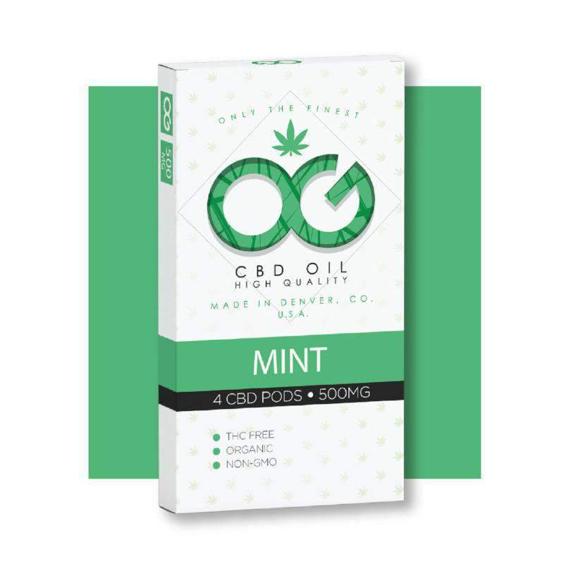 OG CBD Mint Pods (Pack of 4) – UK