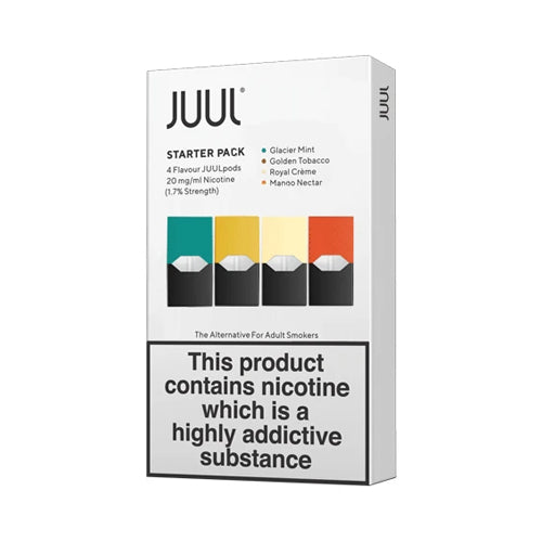 Multipack 2% 20mg Juul Pod Refills – United Kingdom
