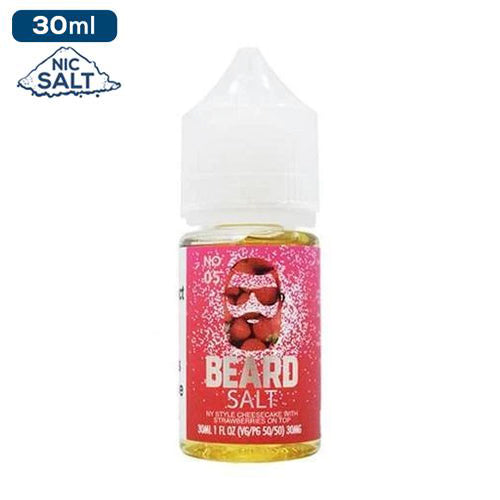 Beard Vape Co Salt Nic - NO.05 e-liquid - 50mg - 30ml bottle - UK