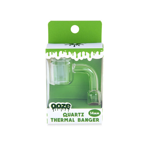Ooze Thermal Banger - 90 Degree - 14mm - Male