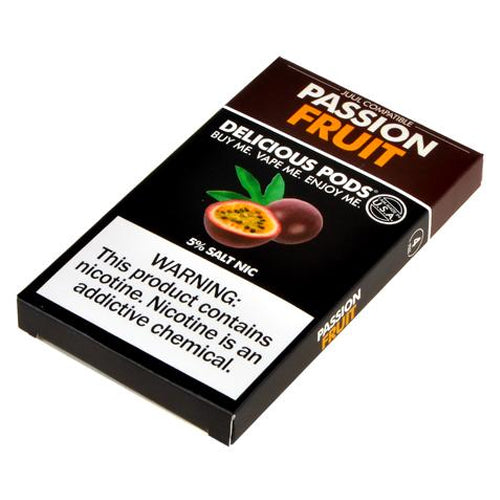 Delicious Pods for JUUL - Passion Fruit 5% - Juul Compatible Pods UK