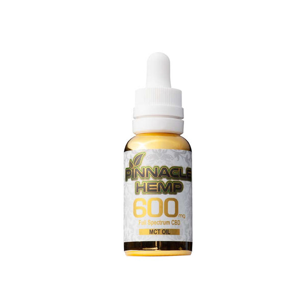 Pinnacle Hemp Full Spectrum CBD MCT Oil 30ml - 600mg to 1800mg