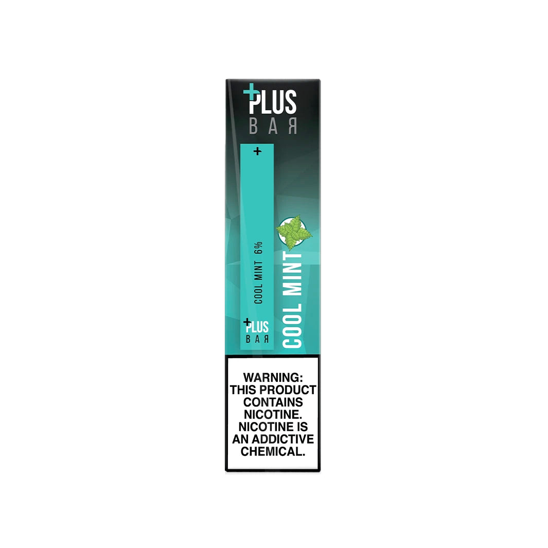 Plus Bar Cool Mint Pod Device 1.3ml Disposable 6% (60mg) - UK