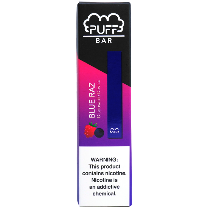 Puff Bar Blue Razz Pod Device 1.3ml Disposable 5% (50mg) - UK