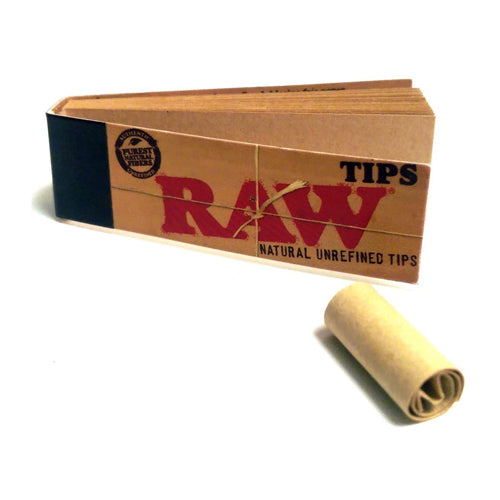 Raw Rolling Paper Tips Booklet