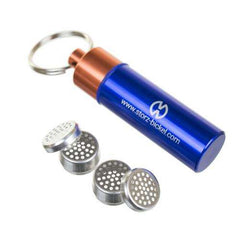 Storz & Bickel Capsule Caddy Key Chain with 4 Drip Liquid Dosing Capsules
