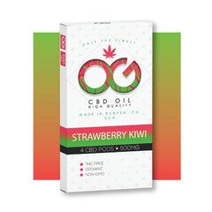 OG CBD Strawberry Kiwi Pods (Pack of 4) – UK