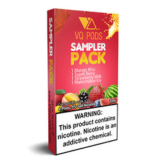 VQ Pods for JUUL - Sample Pack - Juul Compatible Pods UK