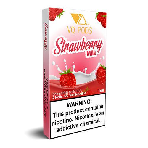 VQ Pods for JUUL - Strawberry Milk - Juul Compatible Pods UK