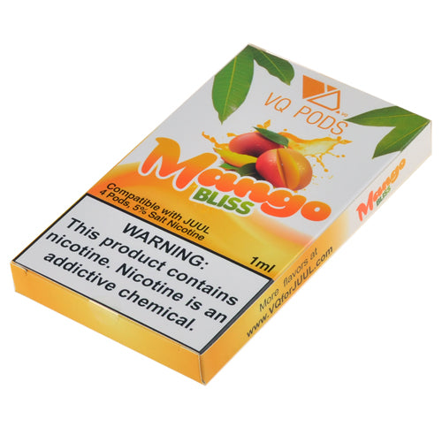 VQ Pods for JUUL - Mango Bliss - Juul Compatible Pods UK