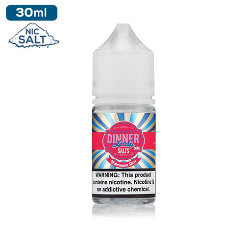 Dinner Lady Salts Nicotine - Watermelon Slices Eliquid - 50mg - 30ml bottle - UK