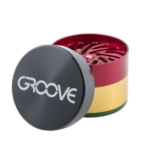 4 Piece CNC Groove Grinder/Sifter