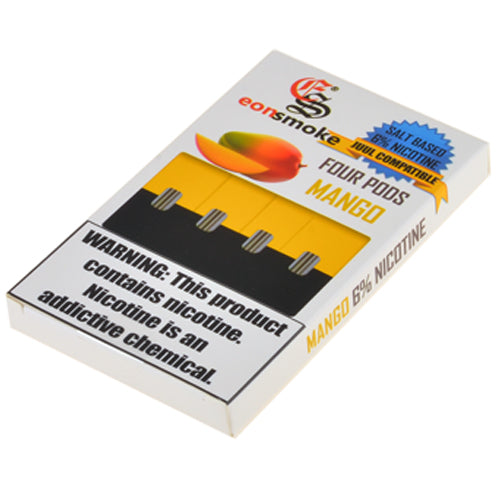 EonSmoke Pods for JUUL - Mango 6% - Juul Compatible Pods UK