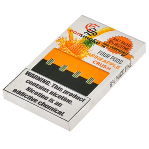 EonSmoke Pods for JUUL - Pineapple Crush 6% - Juul Compatible Pods UK