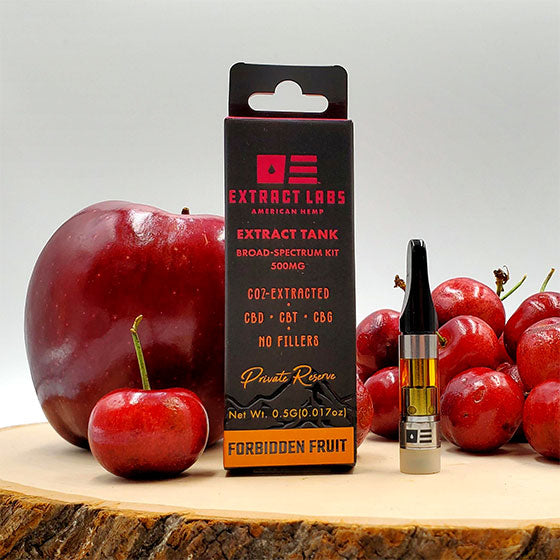 Forbidden Fruit Extract Tank Cartridge Vape Oil – Full Spectrum 1000mg