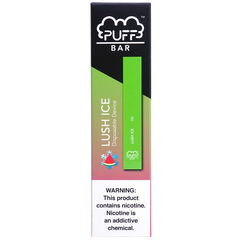 Puff Bar Lush Ice Pod Device 1.3ml Disposable 5% (50mg) - UK