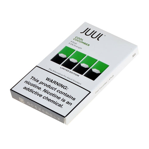 Cool Cucumber 5% Juul Pod Refills – United Kingdom