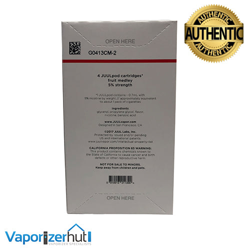 Fruit Medley 5% Juul Pod Refills – United Kingdom