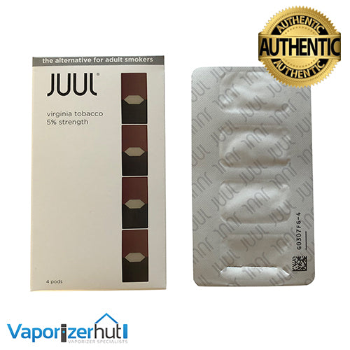 Virginia Tobacco 5% Juul Pod Refills – United Kingdom