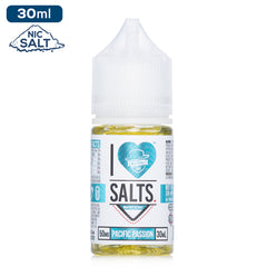 Mad Hatter I Love Salts Nicotine - Pacific Passion Eliquid - 50mg - 30ml bottle - UK