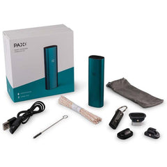 Pax 3 Vaporizer | Loose Leaf + Extract - Complete Kit - Matte Black