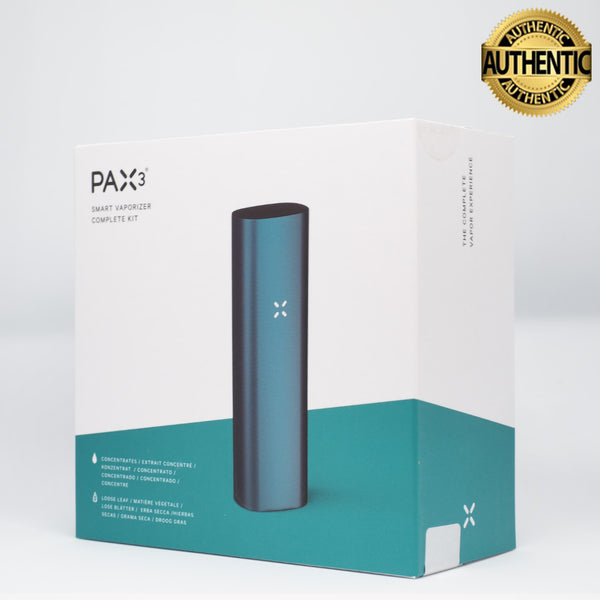 Pax 3 Vaporizer | Loose Leaf + Extract - Complete Kit - Matte Teal