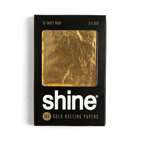 Shine 24K Gold Papers - 12 Sheets - Gold 1.25