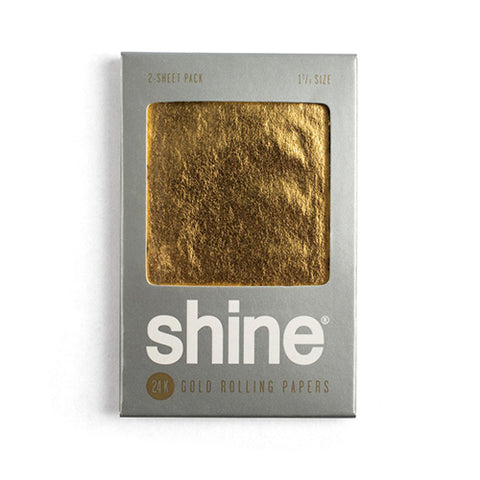 Shine 24K Gold Papers - 2 Sheets - Gold 1.25