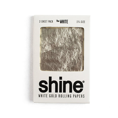 Shine 24K White Papers - 2 Sheets - Gold 1.25