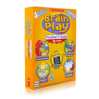 Brain Play Preschool - 1st Grade, 3rd Edition