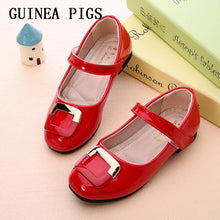Princess Slip-on Children  Leather Shoes For Girls