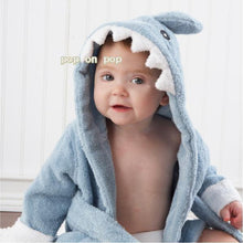 Blue Shark Baby Bath Towels/ Hooded Bathing Towel